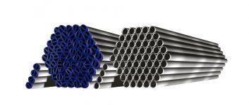 Ampla linha de tubos industriais fina frio (FF), fina quente (FQ) e zincados (ZN); e tubos de condução Galvanizados e Pretos. Disponíveis nos formatos redondo, quadrado e retangular.
